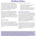 Drafting Orders in Supreme Court