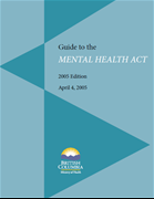 Guide to the Mental Health Act