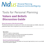 Values and Beliefs Discussion Guide