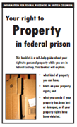 Your Right to Property in Federal Prison
