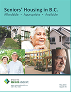 Seniors' Housing in BC: Affordable, Appropriate, Available