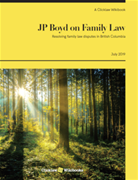 JP Boyd on Family Law: Specific Communities and Family Law