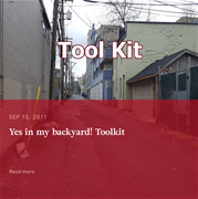 """Yes in my Backyard"" (YIMBY) Toolkit"