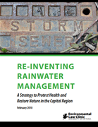 Re-Inventing Rainwater Management: A Strategy to Protect Health and Restore Nature in the Capital Region